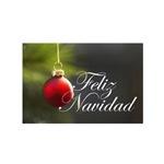 Feliz Navidad - Glass Ornament