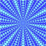 Blue Pattern 001