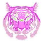 Tiger Spirit Guide Pink