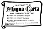 Support The Magna Carta for Transportation !