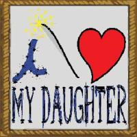 i love my daughter