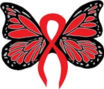 Red Butterfly Ribbon