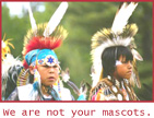 Not Your Mascots