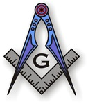 Masonic Square and Compass #36