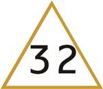 32 in triangle