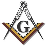 Masonic Square and Compass #4