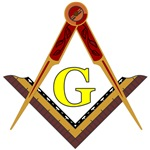 Masonic Square and Compass #17