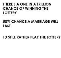 I'd rather play the lottery