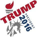 Trump President - angled