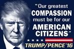 Trump - Compassion Quote