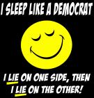 Sleep like a Democrat