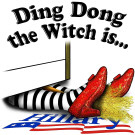 Ding Dong the Witch is...