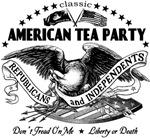 American Tea Party - Monochromed