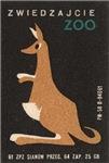 Kangaroo Matchbox Label