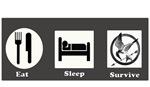 Eat, Sleep, Survive Hunger Games