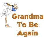 Stork Grandma To Be Again