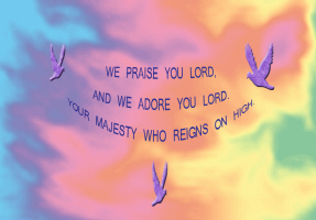 RELIGION/WE PRAISE YOU LORD