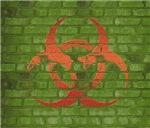 Green Grime Bio-hazard Design