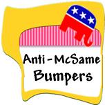 Anti-John McCain Bumper Stickers