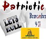 Patriotic T-Shirts, Hoodies & Stickers