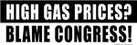 High Gas Prices?  Blame Congress!