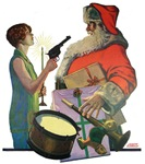 Santa Got Held Up By a Flapper