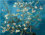 Blossoming Almond Tree, Vincent van Gogh.