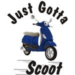 Vespa LX Blue Just Gotta Scoot