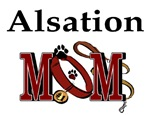 Alsation Dog Mom