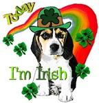 St. Patrick's Day Beagle