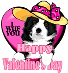 Border Collie  Valentines Day Gifts