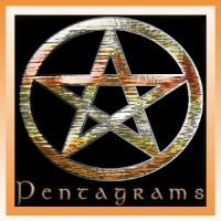 Wicca Pentagram Designs