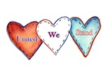 United We Stand Hearts