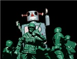 Army Men and Robot