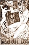 Dunninger Egyptian Bookplate