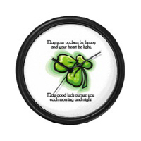 Irish Blessing (May Your Pockets...)
