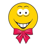 Gift Bow Smiley Face
