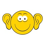 Big Ears Smiley Face