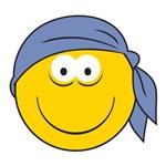 Bandana Smiley Face Design