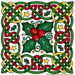 Celtic Garland & Holly
