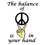 BALANCE OF PEACE IN YOUR HAND