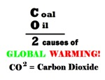 CO2 CAUSES OF GLOBAL WARMING