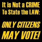 5/23: Only Citizens Vote