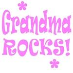 Grandma Rocks Shirts, T Shirts
