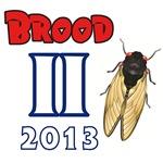 Brood II Cicadas Commemorative