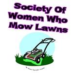 Women Who Mow Lawns