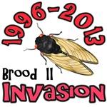 Brood II Cicada Invasion