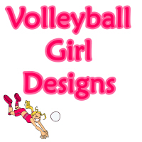 Volleyball Girl Designs