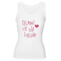 Friend of the Bride Wedding Apparel Hip T Shirts