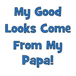 Good Looks From Papa - Blue